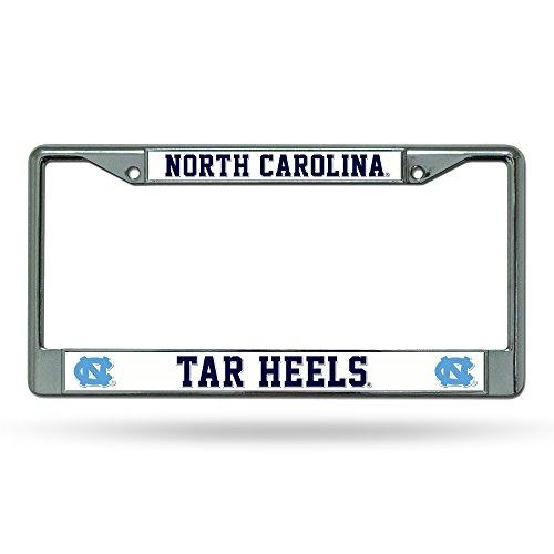Tar Heels Logo License Plate (NCAA North Carolina Tar Heels Chrome Plate Frame)