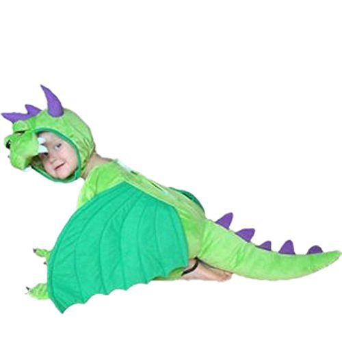 Dragon Girl Halloween Costume (Fantasy World Dragon Halloween Costume f. Children/Boys/Girls, Size: 6, Sy20)
