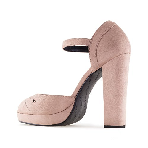 Suedine Small sandales Big Size Women 42 32 am5275 35 Andres E Machado 45 for Heel High Beige E80Xq