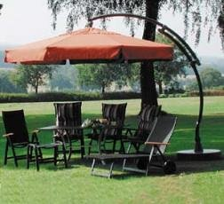 easy sun parasol garden fasci garden. Black Bedroom Furniture Sets. Home Design Ideas