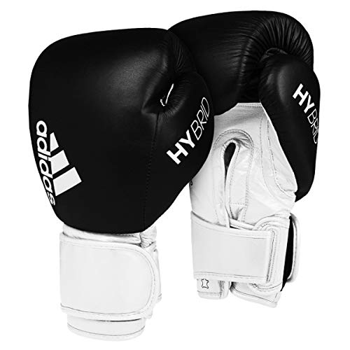 adidas Hybrid 300 Secure Fit Bag Gloves, Black/White, Large