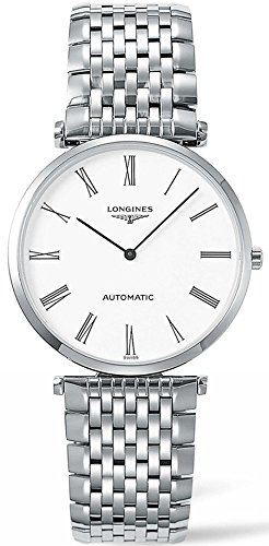 Longines L49084116 La Grande Classique Automatic Ladies Watch - White Dial