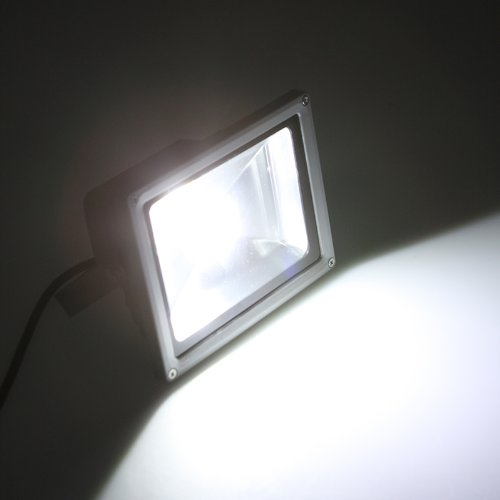 Kingzer 20W LED FloodLight White Outdoor Waterproof 85-265V Garden Lamp