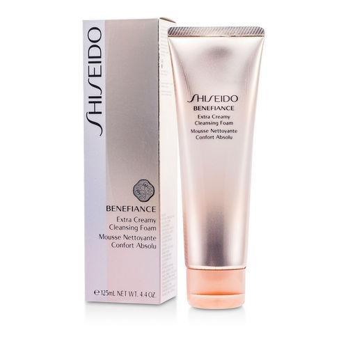 Shiseido Benefiance Extra Creamy Cleansing Foam 4.4 oz.
