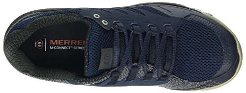 Merrell Out Charge, Scarpe da Trail Running Uomo Blu (Navy)