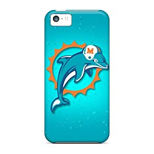 Excellent Iphone 5c Cases Covers Back Skin Protector Miami Dolphins