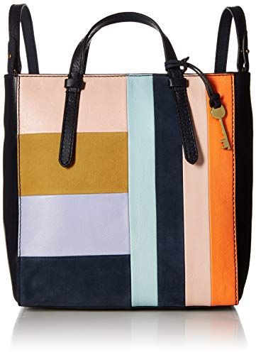 - Fossil Womens Camilla Convertible Small Backpack, Bright patchwork