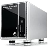 THERMALTAKE N0015LU muse x-duo raid 2-bay 3.5 sata hard drive to usb 2.0 storage center
