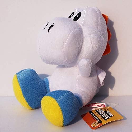 XinKa Super Mary Pluche 9 stks/partij Super Mario Bros Yoshi Pluche Gevulde Pop Speelgoed Met Sucker Voor Kids