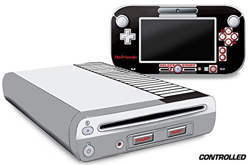 Vinyl Wii Skin - Designer Skin for Nintendo Wii U Console plus Controller Decal for: Wii U System - Controlled