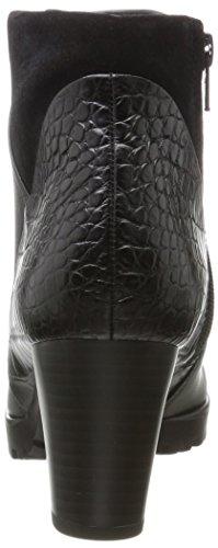 Gabor Ladies Comfort Sport Boots Nero (17 Nero (micro))