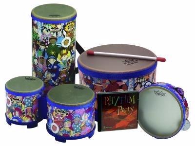 Remo Rhythm Club Percussion Package with CD by Remo Rhythm Club