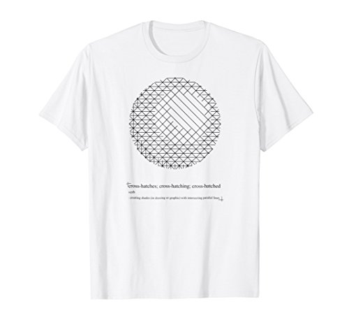 galleon cross hatched sphere t shirt