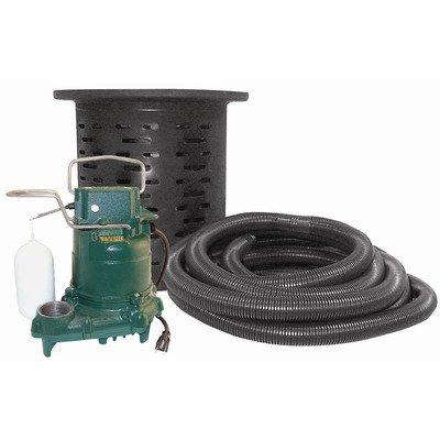 Drainage Sump Pump (Crawl Space Sump Pump with Kit)