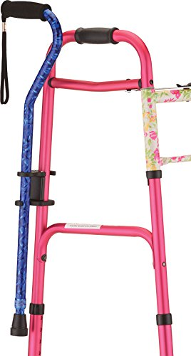 NOVA Cane Holder For Rollator And Walker