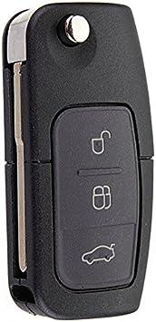 FORD TRANSIT 3 Button REMOTE KEY CASE SHELL UK Venditore