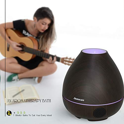 Bluetooth Speaker/Essential Oil 300ml Light/Mini 4 Bass Wireless, Auto Home, Kids Shower Aromacare