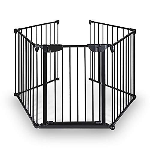 Amazon.com: Teeker - Puerta plegable para chimenea, puerta ...