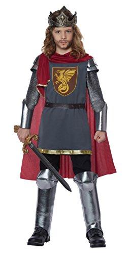 King Child Costume - Boys King Arthur Costume Small/Medium