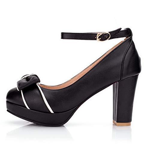 APL10656 Noir EU BalaMasa Noir Femme Plateforme 36 5 SFwdqwT