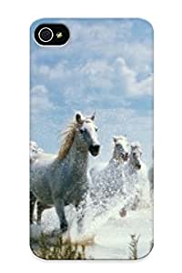 Graceyou High-quality Durability Case For Iphone 4/4s(horses)