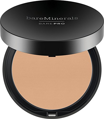 bareMinerals Barepro Performance Wear Powder Foundation, Warm Natural, 0.34 Ounce