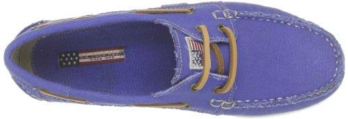 US Polo Assn - Mocasines de tela para hombre Azul (Bleu (Blu))