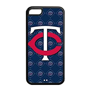 Minnesota Twins Back Design for iPhone 5C TPU Case-by Allthingsbasketball