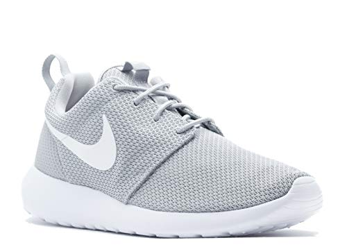Nike Roshe Run Mens Running Shoes sz 10.5 Wolf Grey/White (Roshe Nike Grey Shoes)
