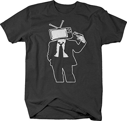 Kill Your Television Talking Head System Tshirt - Large Graphite ()