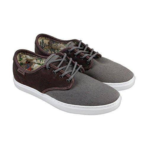 Vans Ludlow Mens Brown Canvas Lace Up Sneakers Shoes bm85Kpzo3j