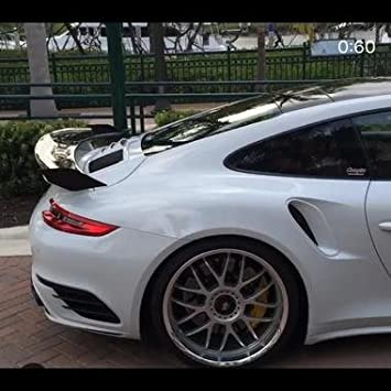 Porsche 991 & 991.2 Turbo & Turbo S WMW-11 Dynamic Bi-Wing Spoiler