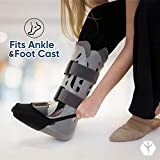 Premium Cast Sock Toe Cover - Fits Leg, Ankle, and