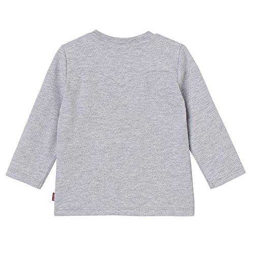 Longues Gris Garçon 24 Bébé Ted Levi's Manches shirt Grey T marled Ls Tee Kids xSwqOzv