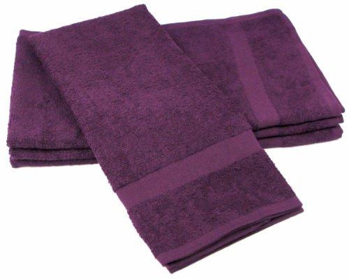Towels by Doctor Joe (DBS-16273-EGPI-6EA-6PK) Safe-2-Bleach Eggplant 16
