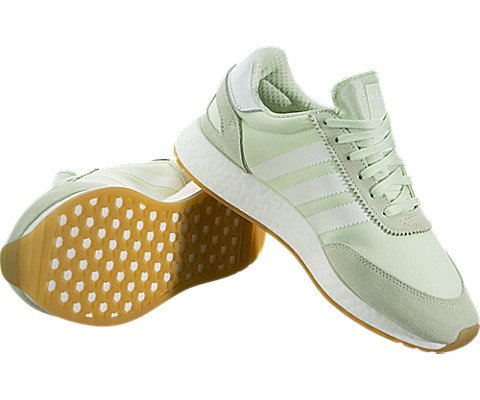 adidas Iniki Runner Womens In Aero Green/White, 9 by adidas (Image #2)
