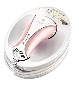 Remington IPL6750 i-Light - Depiladora de luz pulsada, 150.000 disparos, tecnología Propulse, color blanco y rosa
