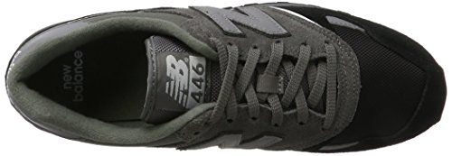 New Grey Uomo Grigio Sneaker Black U446 Balance qAqOB