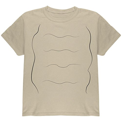Halloween Snail Costume Youth T Shirt Sand YMD ()