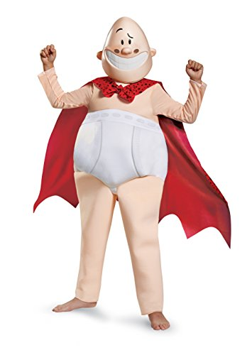 Captain Underpants Movie Deluxe Costume, Small (4-6)