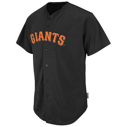 San Francisco Giants Full-Button BLANK BACK Major League Baseball Cool-Base Replica MLB ()