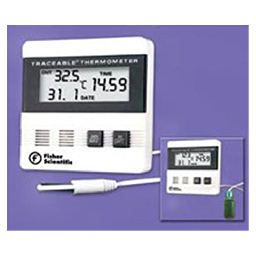 Price comparison product image WP000-14-648-26 14-648-26 14-648-26 Thermometer Lab Traceable Fridge / Frzr Dgt LCD Dual Wlmnt Ea From Fisher Scientific Co.