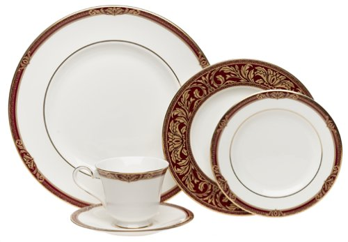 Amazon.com | Royal Doulton Tennyson 5-Piece Dinnerware Place Setting Service for 1 Dinnerware Sets  sc 1 st  Amazon.com & Amazon.com | Royal Doulton Tennyson 5-Piece Dinnerware Place Setting ...