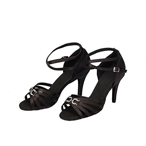 8 femme Salle 5cm Miyoopark heel Black de bal xq8BqwCn