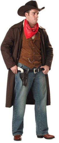 Adult western style costumes extra large sizes