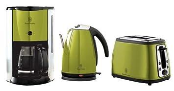 kaffeemaschine toaster wasserkocher im set