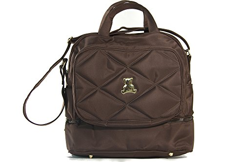 BL BABY - Elegance Collec. - Crossbody Bag - Themal - Brown - 6x13x13'' by BL BABY