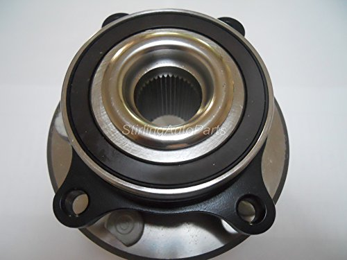 PROFORCE 513275 Premium Wheel Bearing and Hub Assembly (Front or Rear) (Bearings Premium Wheel Rear)