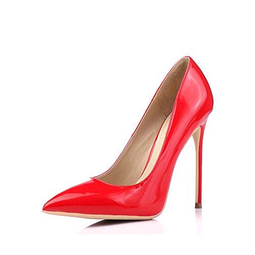 La Red snfgoij Altos Club Mujeres Los De 12CM Casan Mujer Zapatos Los Atractivo Tacones Forman El Trabajo con Los La El Zapatos Las Que Corte del 33 Partido Altos Nocturno De EU 12cm De AqOwArvE