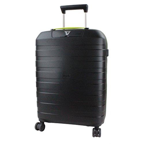 roncato-box-suitcase-5513-black-yellow
